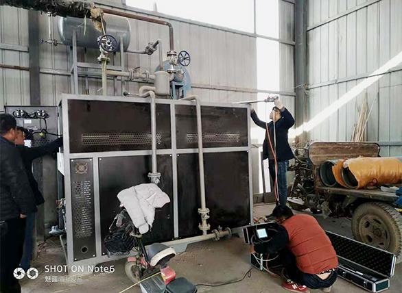高温模温机现场安装